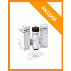 Тест-полоски Урискан Кетоны URISCAN 1 Ketone strip 100 тестов ( U15 )