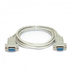 Кабель 180 см RS-232 для подключения устройств через порт RS-232 порт,разъёмы DB-9Female-DB-9Female