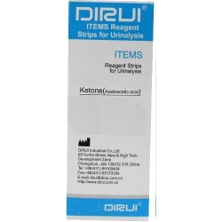 Тест-полоски Дируи Кетоны Dirui 1 Urine test strip Ketone ( D 0003 )
