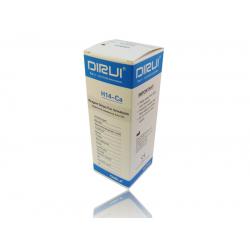 Тест-полоски на 14 параметров мочи  Дируи H14+Кальций Urine Test Strip DIRUI H14+Ca Глюкоза, Билирубин, Кетоны, Удельный вес, Скрытая кровь, pH, Белок, Уробилиноген, Нитриты, Лейкоциты, Микроальбумин , Креатинин, Кальций