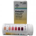 Тест-полоска Кетостикс Ketostix Ketone Bayer HealthCare 50 шт ( 2880 )