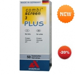 Тест-полоски Комби Скрин 3 Плюс COMBI SCREEN® 3 PLUS  50 шт ( 94508 )