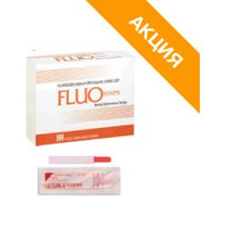 FluoStrips (Fluo Strips, BIO GLO) тест-полоски офтальмологические  с флюоресцеином